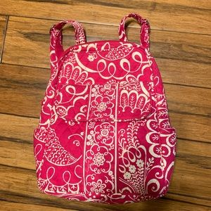 VERA BRADLEY SMALL PINK BACKPACK